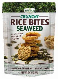 Alli & Rose Tropical Fields Crunchy Seaweed Bites