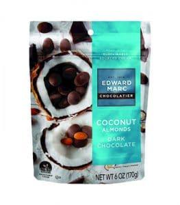 Edward Marc Brand Coconut Almonds with Dark Chocolate