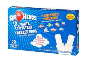 Jel Sert Company Airheads White Mystery Freezer Bars