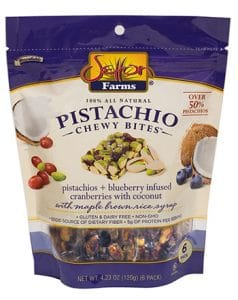 Setton Farms Pistachios + Blueberry Infused Cranberries & Coconut Chewy Bites