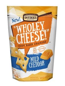 Snyder's Lance, Inc. Wholey Cheese! Mild Cheddar