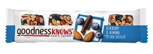 goodness KNOWS Blueberry & Almond