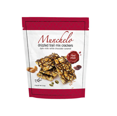 Drizzled Trail Mix Crackers