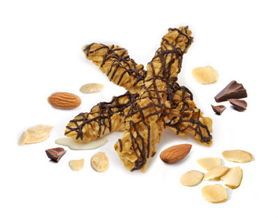 Drizzled Almond Sticks