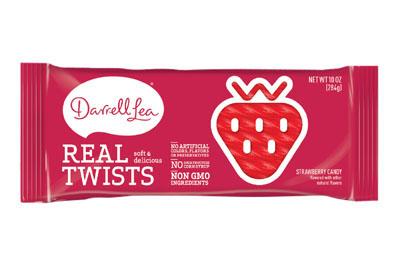 Darrell Lea Strawberry Real Twists