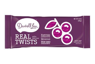 Darrell Lea Grape Real Twists