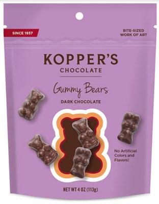 Dark Chocolate Gummy Bears
