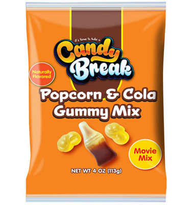 Popcorn and Cola Gummy Mix