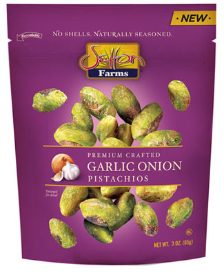 Garlic Onion Seasoned Pistachio Kernels