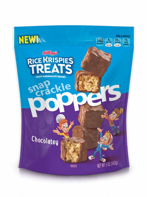Rice Krispies Treats Snap, Crackle Poppers