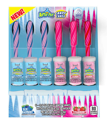 Baby Bottle Pop Candy Canes