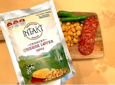 Intakt Crunchy Cheese- Spicy