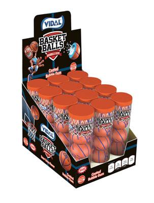 Basketballs Bubble Gum