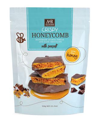 Crispy Honeycomb with Sea Salt