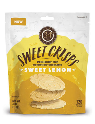 Sweet Crisps: Sweet Lemon