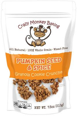 Pumpkin Seed & Spice Granola Cookie Crunch
