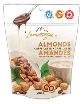 Caffe Latte Almonds