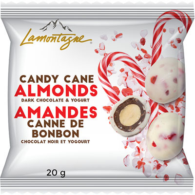 Candy Cane Almonds