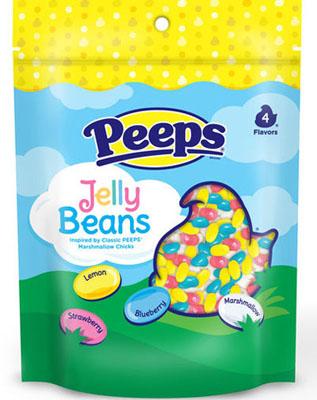 PEEPS Marshmallow, Strawberry, Lemon & Blueberry Flavored Jelly Beans