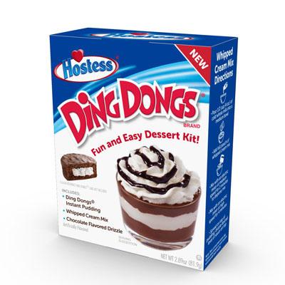 Hostess Dessert Kit - Ding Dongs