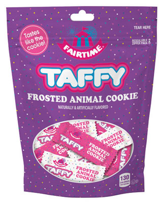 Frosted Animal Cookie Taffy