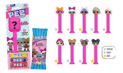PEZ LOL Surprise  Mystery Packs