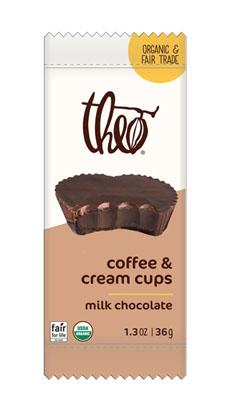 Milk Chocolate Coffee & Cream Cups