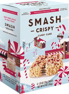 SMASHCRISPY Candy Cane