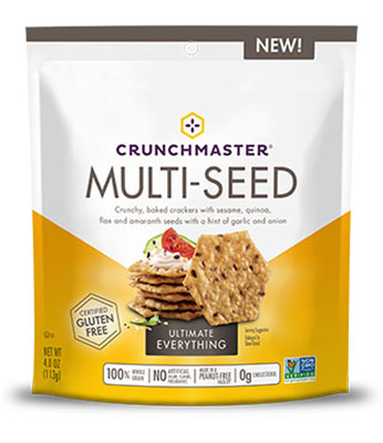 Multi-Seed Crackers in Ultimate Everything flavor