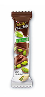 Milk Chocolate with Pistachios