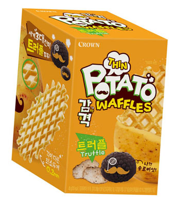 Thin Potato Waffles Truffle