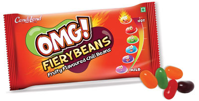 Fruity flavored Spice leveled Jellybeans