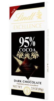 EXCELLENCE 95% Cocoa Dark Chocolate Bar