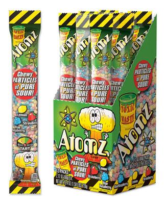 Atomz/Lemon, Strawberry and Blue Raspberry