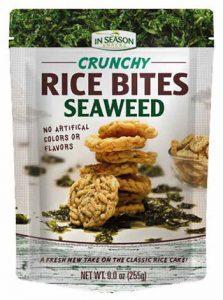 Alli & Rose Tropical Fields Crunchy Seaweed Bites
