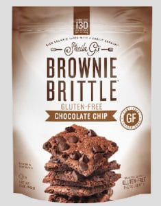 Brownie Brittle LLC Gluten Free Dark Chocolate Sea Salt