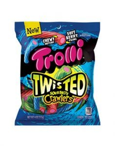 Ferrara Candy Co TROLLI SOUR BRITE DIP N CRAWLERS