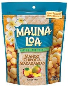 Hawaiian Host Inc. Mauna Loa Mango Chipotle Macadamias