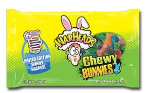 Impact-Confections, Inc., WARHEADS Chewy Bunnies Assorted Flavors