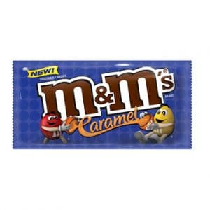 MARS Chocolate North America M & M's Caramel Chocolate Candies