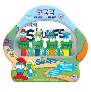 Pez Candy Inc. Smurfs Gift Tin