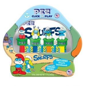 Pez Candy Inc. Smurfs Gift Tin