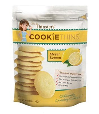 That's How We Roll – Mrs. Thinster's Cookie Thins Meyer Lemon
