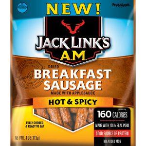 AM Hot & Spicy breakfast sausage